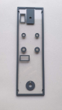 B737-Windshield / Call System / Smoking Seat Belt  / Emergency Lights Backpanel