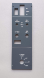 B737-Windshield / Call System / Smoking Seat Belt/ Emergency Lights Frontpanel